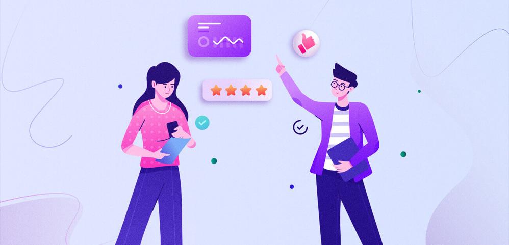 Offline and online links in customer loyalty